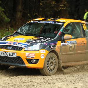 Sam Bilham takes the 2016 English Rally Championship title